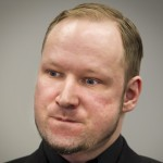 Defendant Anders Behring Breivik, who is expected to give his account of events on the July 22, 2011 attacks at Utoeya island, is pictured in court on the fifth day of his trial in Oslo